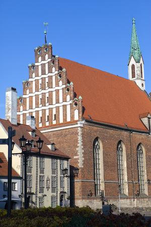 Saint John Lutheran church in the center of Riga, Latvia. Began as small chapel was built in 1234