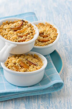 to crumble: Crumble with pumpkin and cheese
