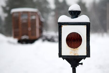 railway lamp photo