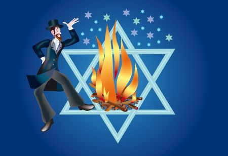 Rabbi Shimon taught that death of body is Stock Photo - 8208259