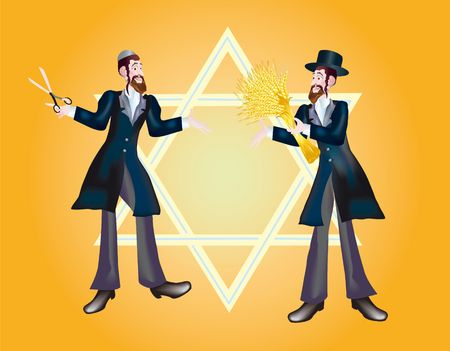 Shavuot marks the offensive of new season of year Stock Photo