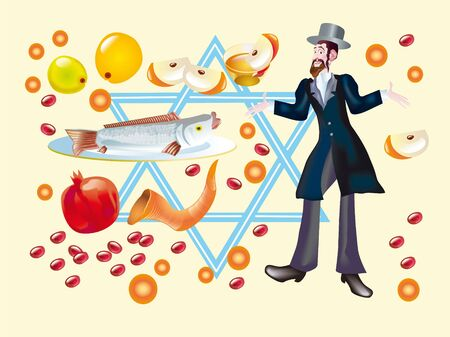 jewish new year: Jewish holiday of Rosh A-Shana is marked in honour creation of the world, he symbolizes beginning of New Year and completion of year of get-away.