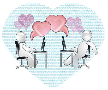 conception of romantic relations over the internet