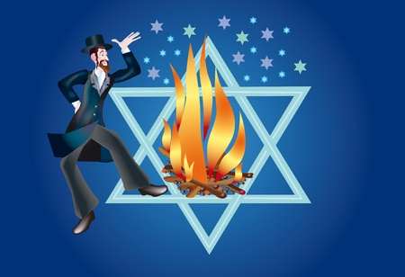Rabbi Shimon taught that death of body is Stock Photo - 9530295