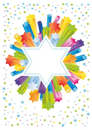purim: Abstract background from the stars of David