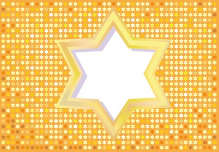 Abstract background from the stars of David photo
