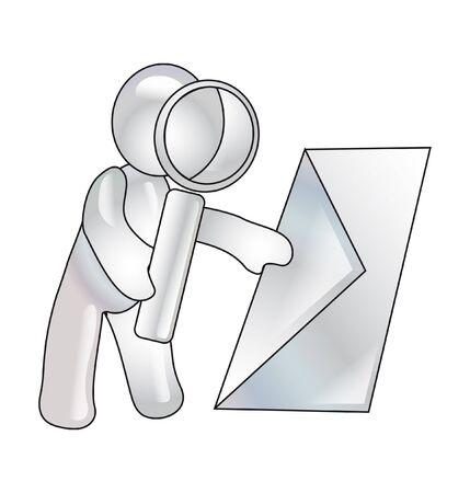 Conception of verification of e-mail photo