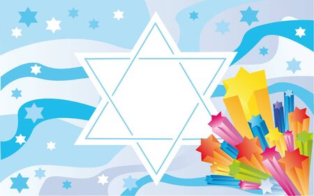 sukkot: Abstract background from the stars of David