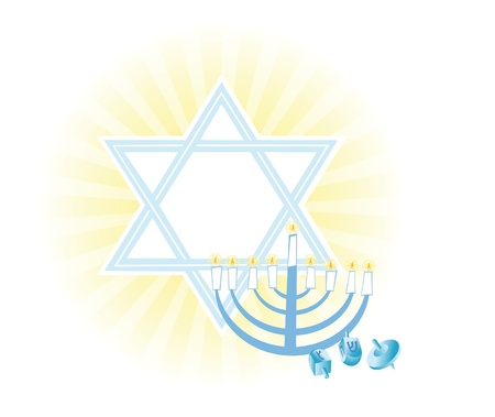 jewish ethnicity: background with Magic and miracles, faith in God and Jewish tradition Stock Photo