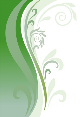 an abstract background is in green tones Stock Photo