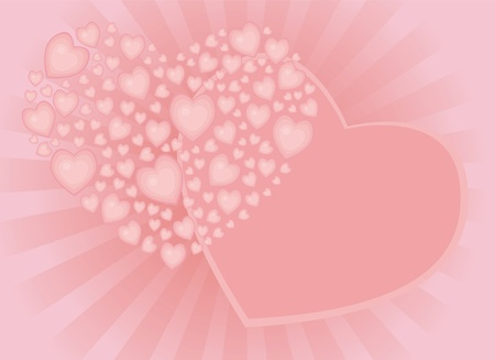 background for congratulations to the valentine's day, wedding