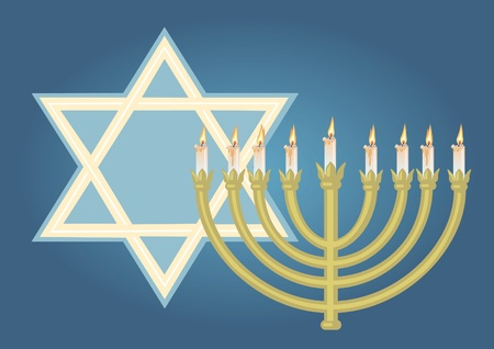 mitzvah: Abstract background from the stars of David