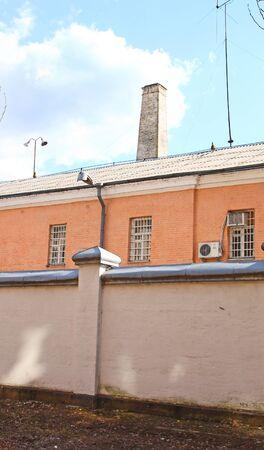 Lukyanovskaya prison in Kiev in a sunny day Stock Photo - 12686364