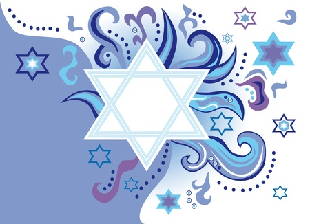 judaism: Abstract background from the stars of David
