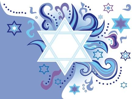 etoile juive: R�sum� de fond des �toiles de David Banque d'images