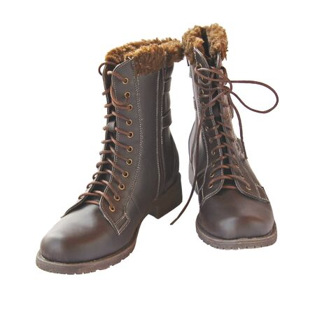 Youth Fur Boots Pair Youth Warm a Boot With