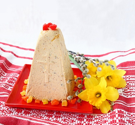 The traditional Russian Easter treating is urgent Stock Photo - 17748962