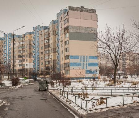 paredes exteriores: Casa en Kiev, que los inquilinos s� mismos aislados paredes exteriores de la preservaci�n del calor