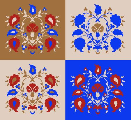 Set Crimean Tatar pattern
