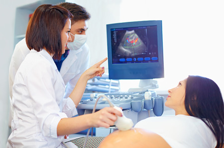 council of physicians for pregnancy mother Stockfoto