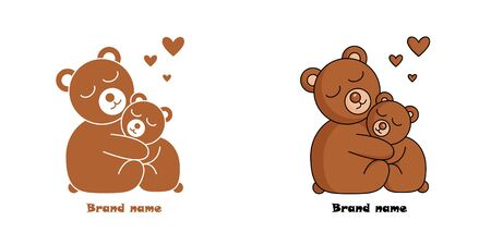 the bear in two versions.