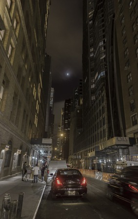 lunar eclipse: New York City, New York State, lunar eclipse at night time, US