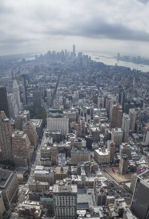 New York City, New York State, view from Empire State building