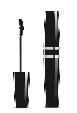 Black lash mascara tube with brush.