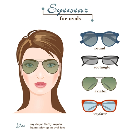 Womens glasses for ovals.