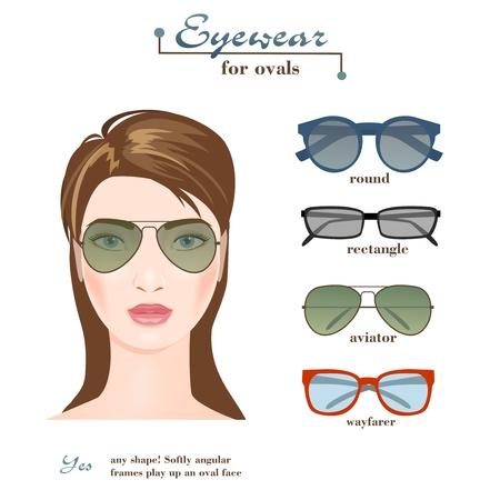 Womens glasses for ovals.