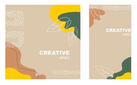Abstract fall backgrounds for other. Vector illustration