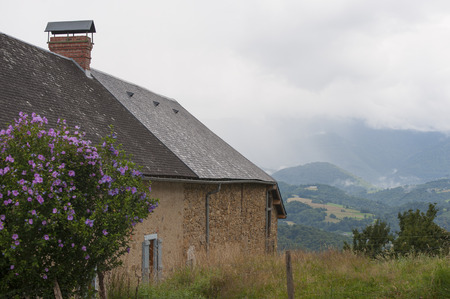 dank: The house is on a hillside in France.