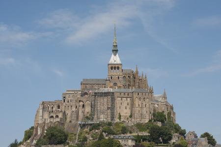 mont saint michel: Mont Saint Michel (France) Shooting in summer 2014. Normandy, Department Manche, France.