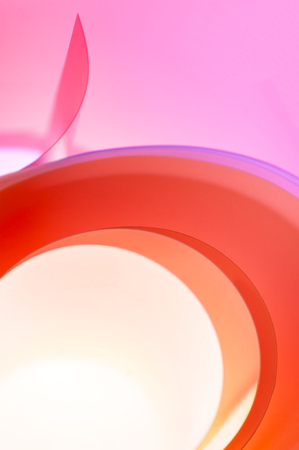Abstract photo - background of multi-colored rings with a gradient.