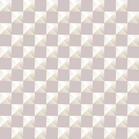 bulk: Texture with a geometric pattern of bulk pyramids. Vector illustration