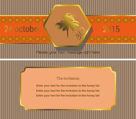fairs: invitations card