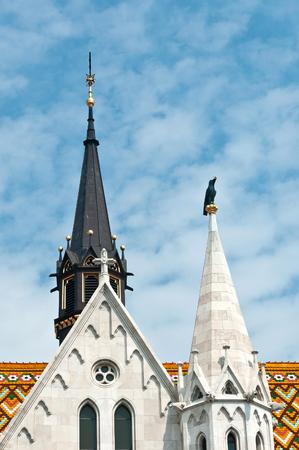 Matthias Church is a Roman Catholic church in the Romanesque style. Budapest, Hungary
