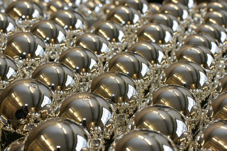 Half-finished of christmas-tree balls Stock Photo - 2249320