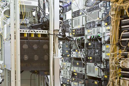 racks with multisystems servers