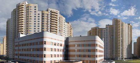 New inhabited quarter in Poznyaki district of Kyiv is capital city of Ukraine. Stock Photo - 3274399