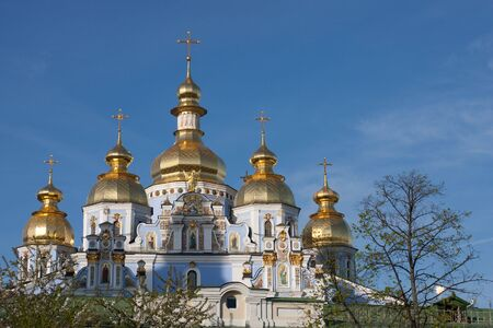 Renovation Saint Mishel cathedral in Kyiv - the best example of ukrainian baroque.