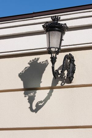 Streetlamp on the wall Stock Photo - 17171476