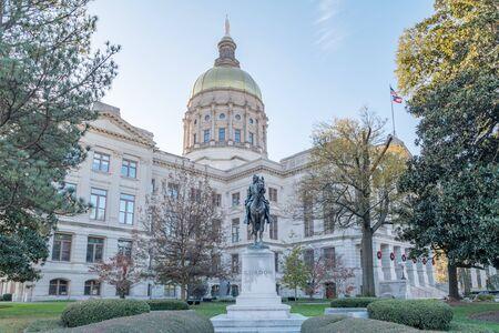 Georgia State Capitol Building in Atlanta Georgia USA.