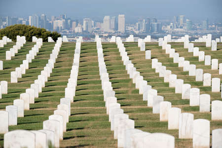 Fort Rosecrans National Cemetery is a federal military cemetery in the city of San Diego California. 報道画像