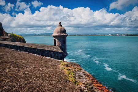 Castillo San Felipe del Morro El Morro Sentry Box, San Juan, Puerto Rico. Castillo San Felipe del Morro