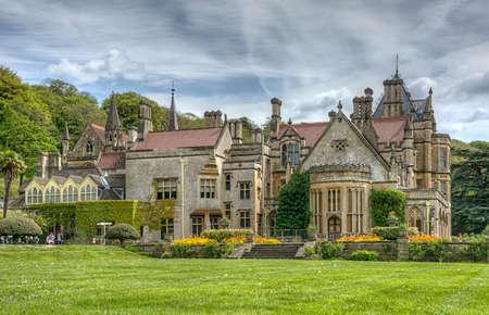 beautiful gardens at Tyntesfield House, Wraxhall, North Somerset, England UK
