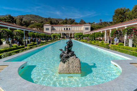 The Getty Villa is a small museum in Palissades CA that specializes in Greco-Roman art.