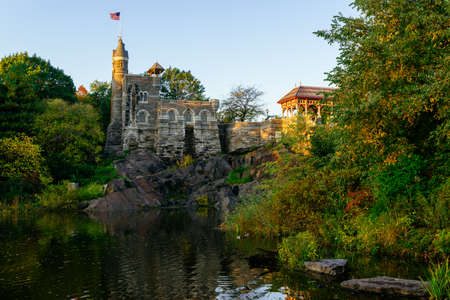 Belvedere Castle in the Central Park, New York City Éditoriale