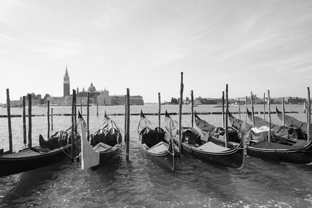 however: Venetian gondola Stock Photo