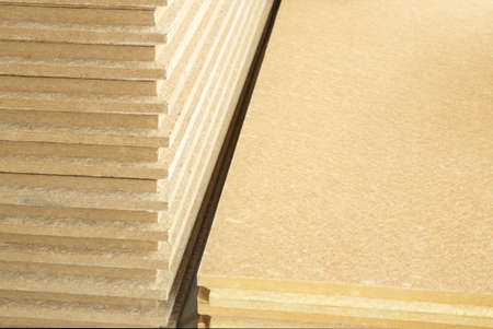 materials background - compressed thermal insulating hemp fiber bonded panels 写真素材